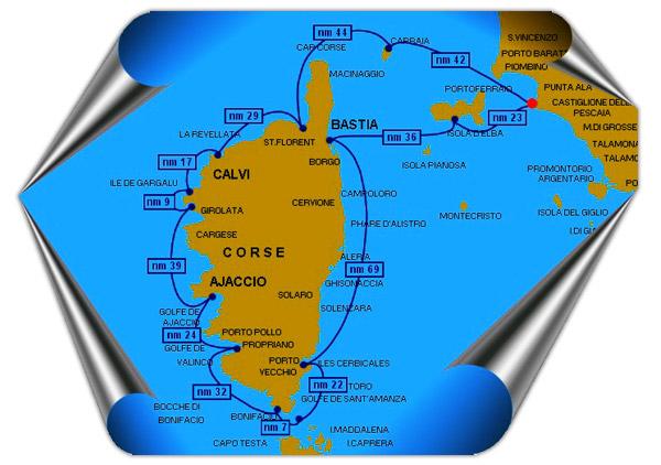 Sailboat Holiday Corsica Calvi Girolata Elba Porto Vecchio Bastia