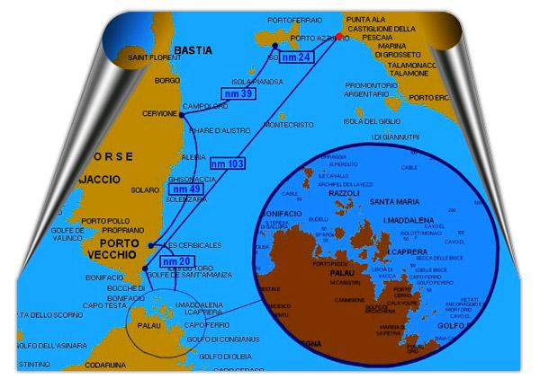 Sailboat Holidat Maddalena Archipelago