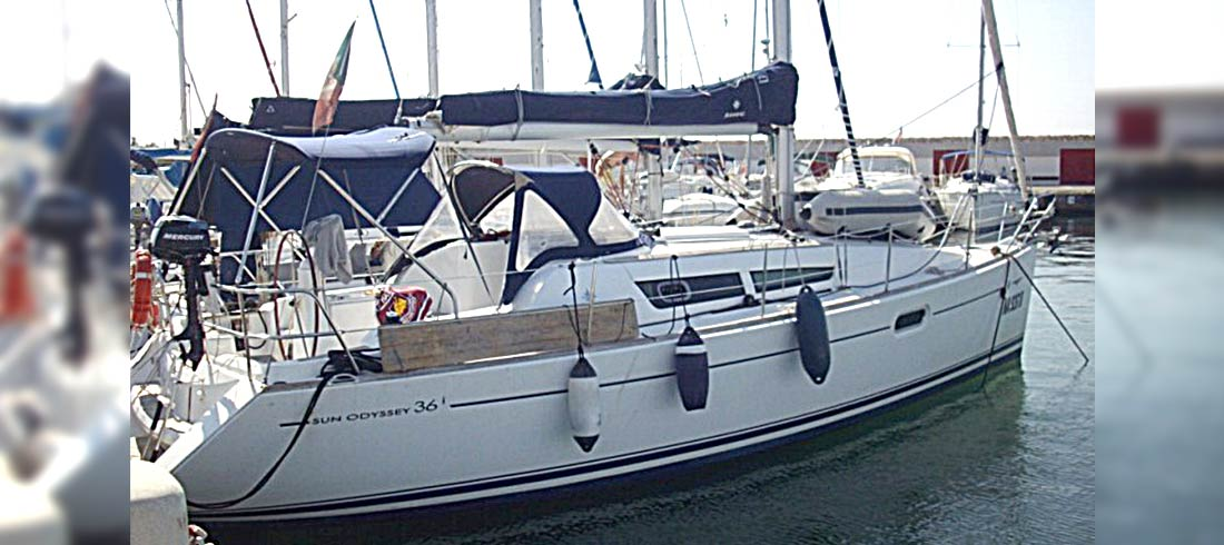 Sailboat rental Sun Odyssey 36i 2007