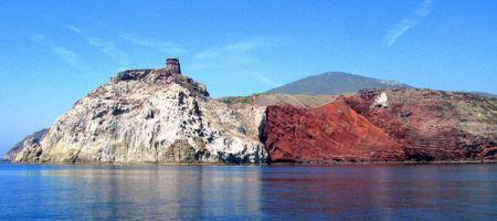 Sailboat Holiday Tuscany Island Capraia Cala Rossa