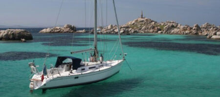 Sailboat Holiday Lavezzi Gulf