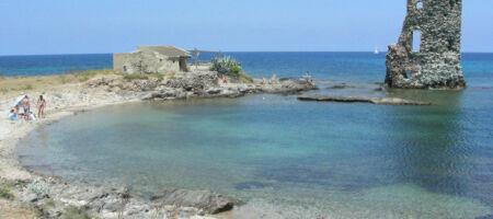 Sailboat holiday Saint Florent Finocchiarola Beach